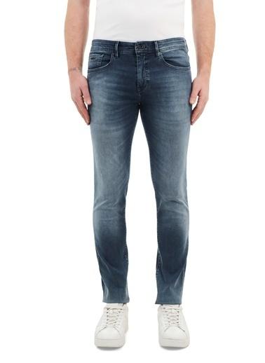 Hugo Boss  Slim Fit Pamuklu Jeans Erkek Kot Pantolon 50449019 426 Lacivert